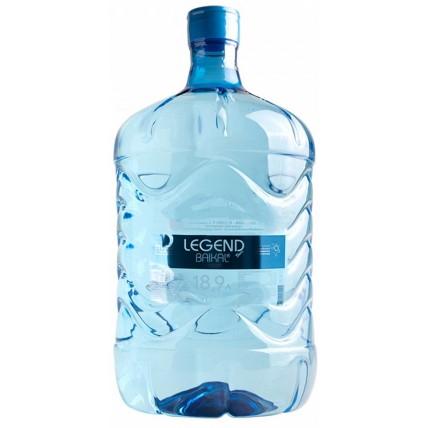 Питьевая бутилированная вода ЛЕГЕНДА БАЙКАЛА 18.9 л ...