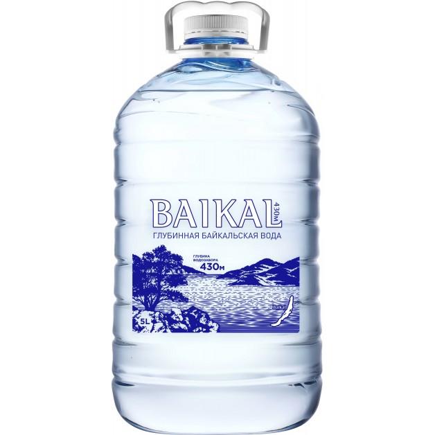 Вода BAIKAL430 негазированная 5 литров