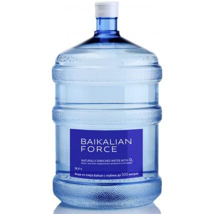 Вода BAIKALIAN FORCE 19 литров в одноразовой таре...