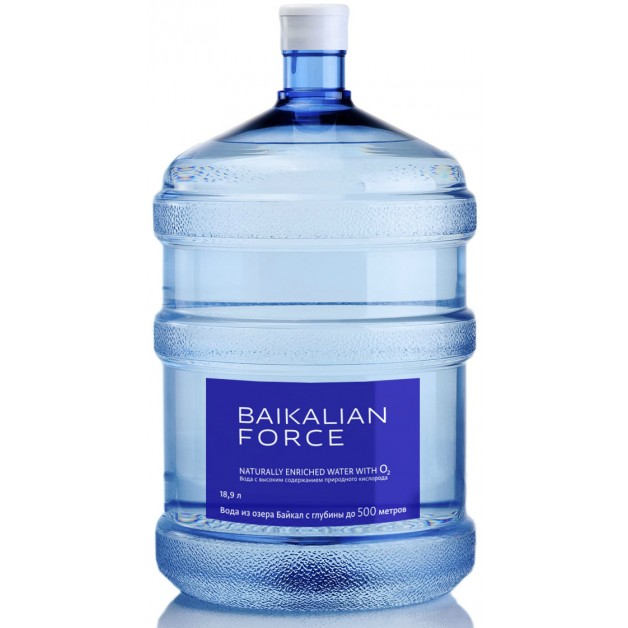 Питьевая бутилированная вода BAIKALIAN FORCE 19 л (одноразовой таре)