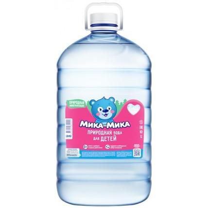 Детская вода Мика-Мика ПЭТ 5 литров...