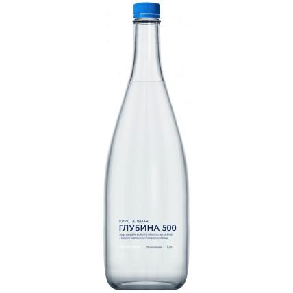 Вода Кристальная глубина 500 негазированная 1.3 литр...