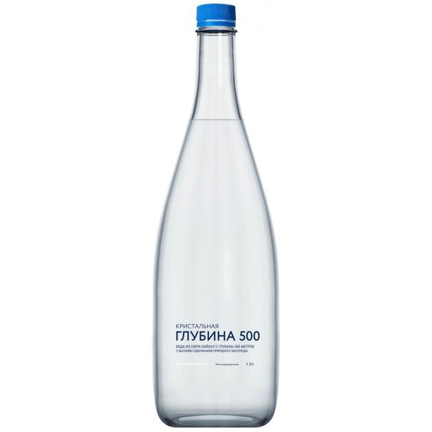 Вода Кристальная глубина 500 негазированная 1.3 литра