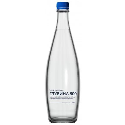Вода Кристальная глубина 500 негазированная 0.5 литр...