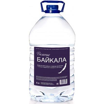 Вода Величие Байкала (BAIKAL 500М) 5 литров...