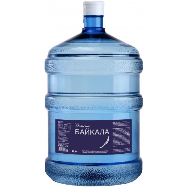 Вода Величие Байкала (BAIKAL 500М) 19 литров в одноразовой таре