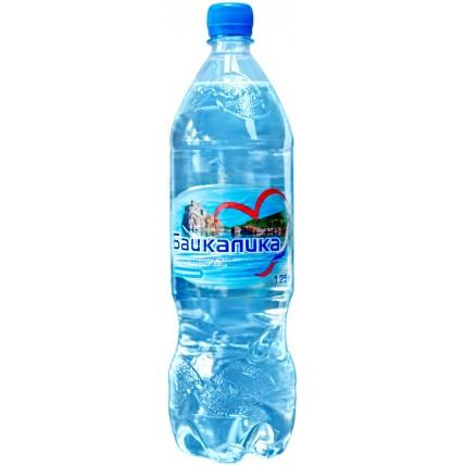 Вода БАЙКАЛИКА негазированная 1.25 литра (глубинная)...