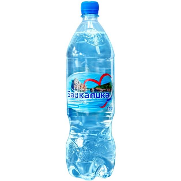 Вода БАЙКАЛИКА негазированная 1.25 литра (глубинная)