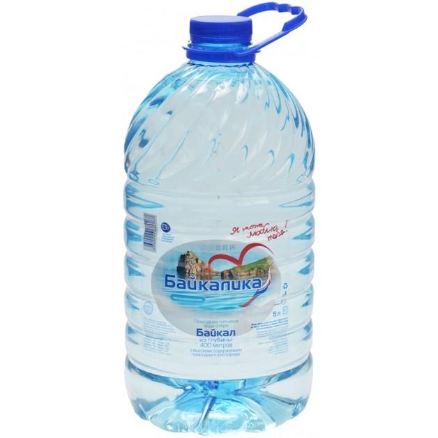 Вода БАЙКАЛИКА 5 литров (глубинная)