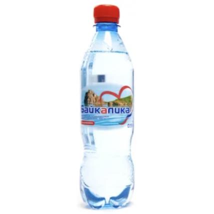 Вода БАЙКАЛИКА газированная 0.5 литра (глубинная)...