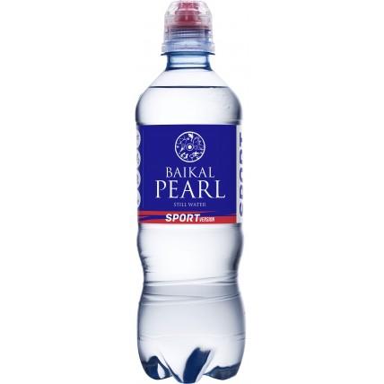 Вода Жемчужина Байкала (BAIKAL PEARL) спорт 0.5 литр...