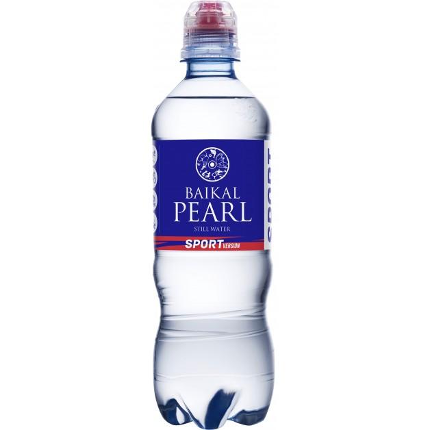 Вода Жемчужина Байкала (BAIKAL PEARL) спорт 0.5 литра