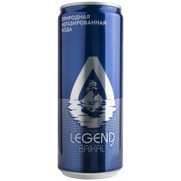 Вода Легенда Байкала (LEGEND OF BAIKAL) 0.33 литра в жестяной банке