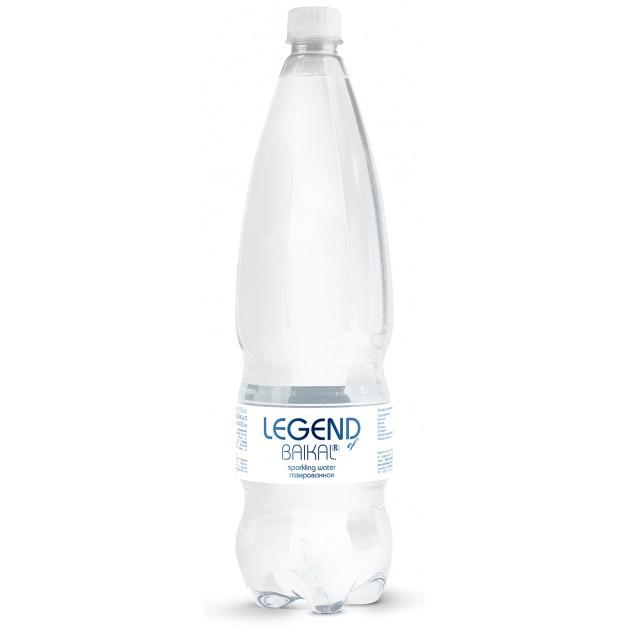 Вода Легенда Байкала (LEGEND OF BAIKAL) газированная 1.5 литра