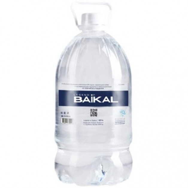 Вода Легенда Байкала (LEGEND OF BAIKAL) 4.9 литра