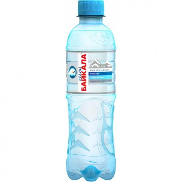 Вода Волна Байкала (WAVE OF BAIKAL) газированная 0.33 литра