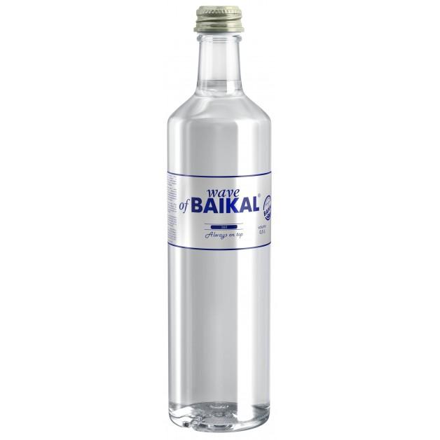 Вода Волна Байкала (WAVE OF BAIKAL) негазированная стекло 0.5 литра