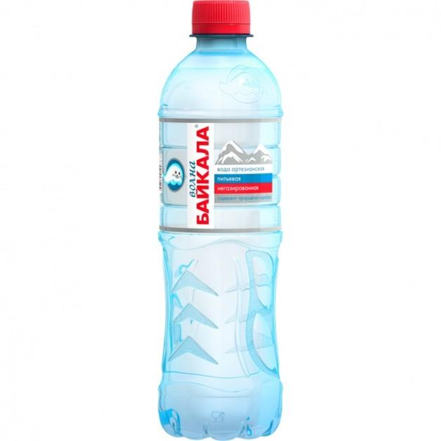 Вода Волна Байкала (WAVE OF BAIKAL) негазированная 0.5 литра