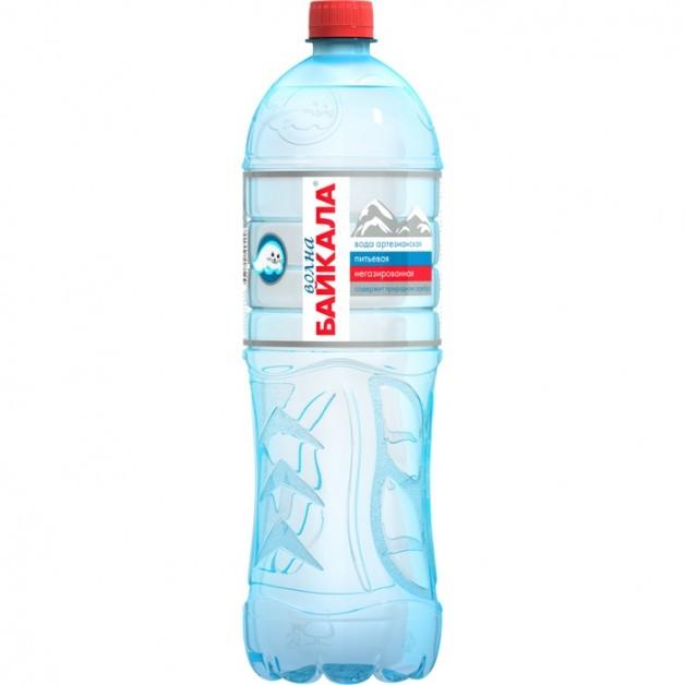 Вода Волна Байкала (WAVE OF BAIKAL) негазированная 1.5 литра