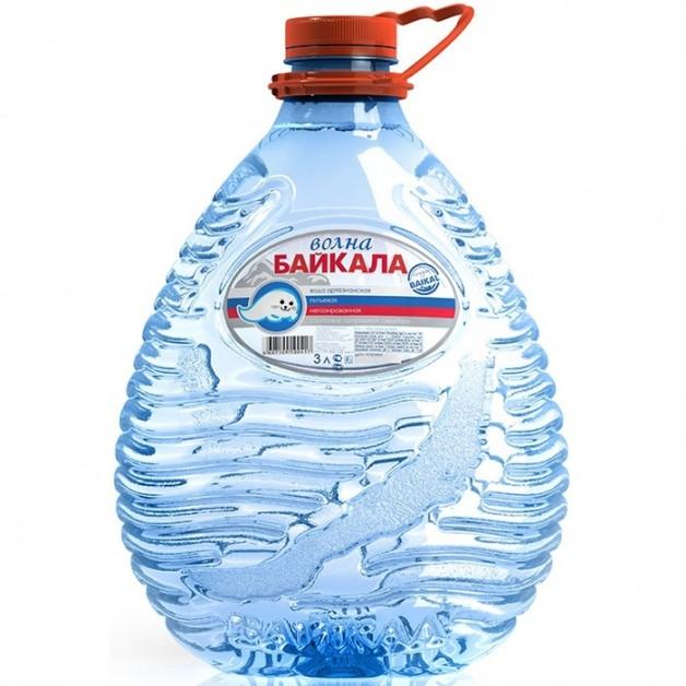 Вода Волна Байкала (WAVE OF BAIKAL) 3 литра