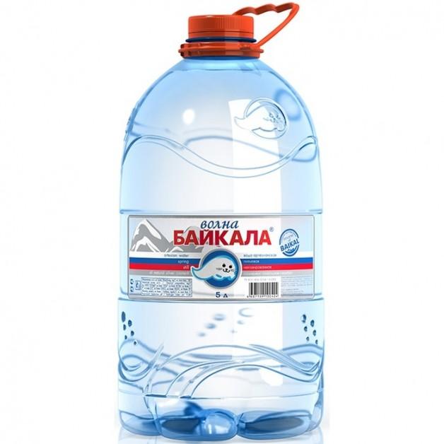 Вода Волна Байкала (WAVE OF BAIKAL) 5 литров