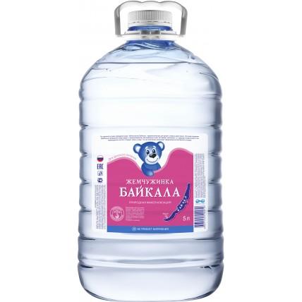 Вода Жемчужинка Байкала ПЭТ 5 литров...
