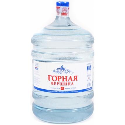 Вода ГОРНАЯ ВЕРШИНА 19 литров...