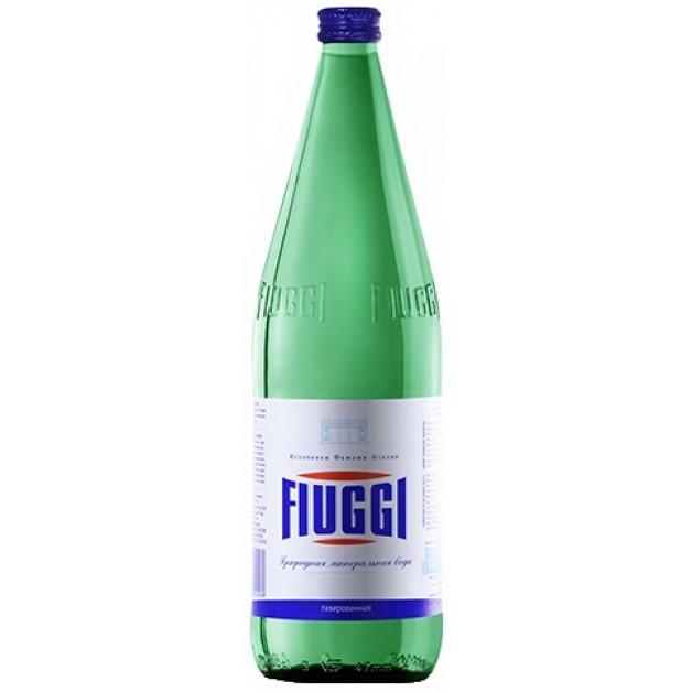Вода Фьюджи (FIUGGI) Vivace слабогазированная 1 литр