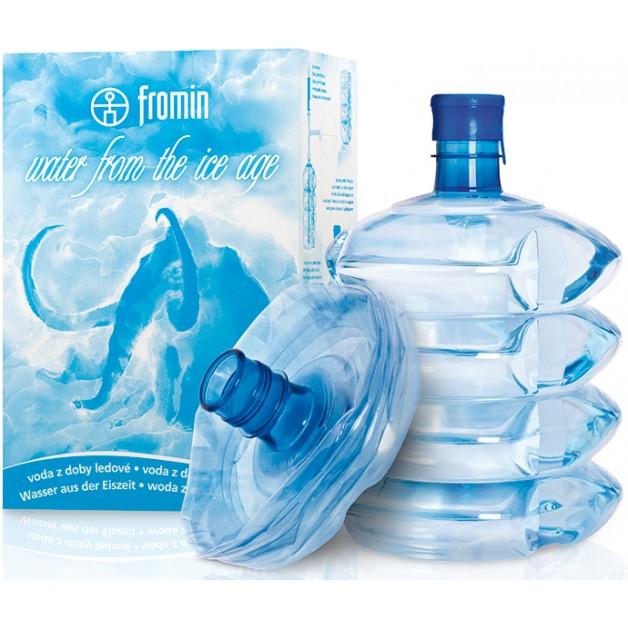 Питьевая бутилированная вода FROMIN 10 л (одноразовая тара)