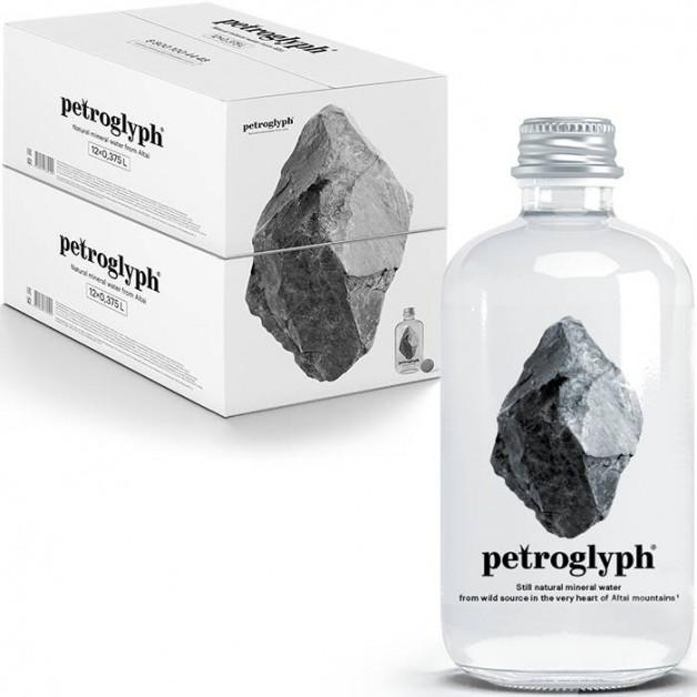 Вода Petroglyph негазированная стекло 0.375 литра