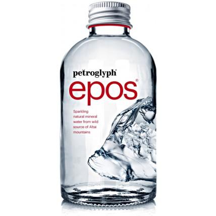 Вода Petroglyph epos газированная стекло 0.375 литра...