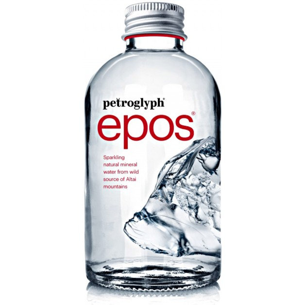 Вода Petroglyph epos газированная стекло 0.375 литра