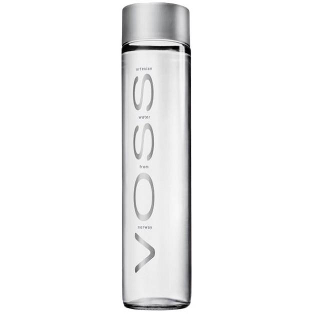 Вода VOSS (ВОСС) негазированная стекло 0.375 литра