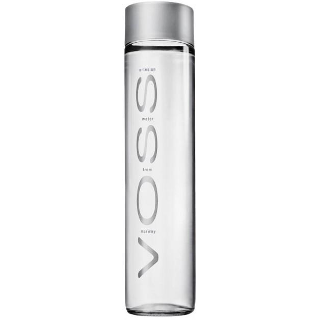 Вода VOSS (ВОСС) негазированная стекло 0.8 литра