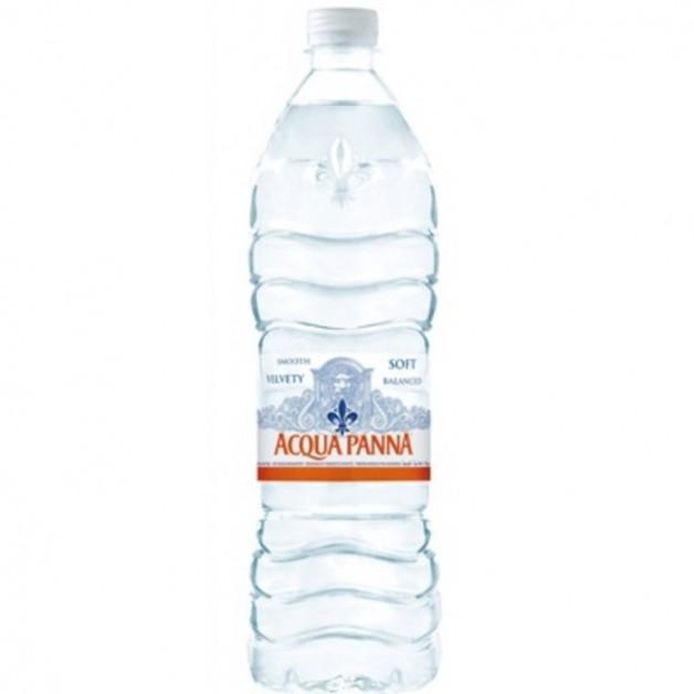 Вода АКВА ПАННА (ACQUA PANNA) негазированная 1 литр ПЭТ