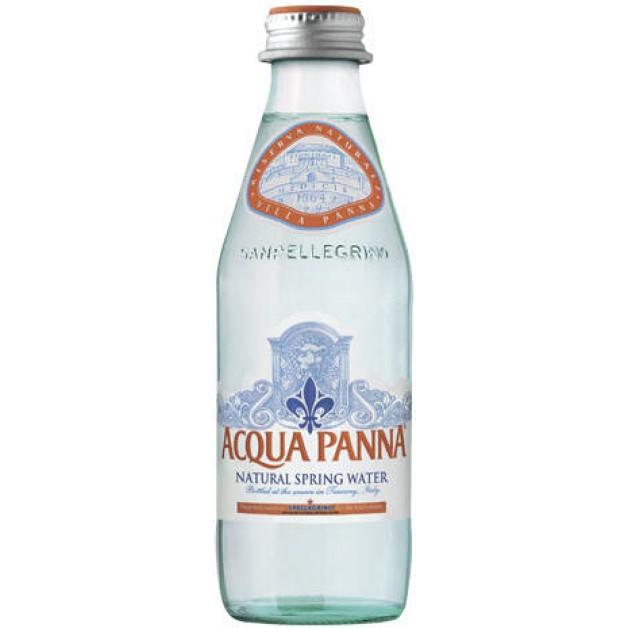 Вода АКВА ПАННА (ACQUA PANNA) негазированная стекло 0.25 литра