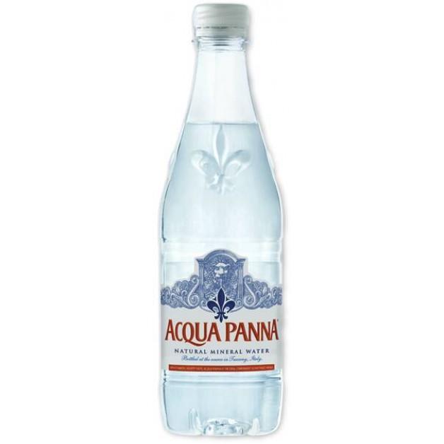 Вода АКВА ПАННА (ACQUA PANNA) негазированная 0.5 литра ПЭТ