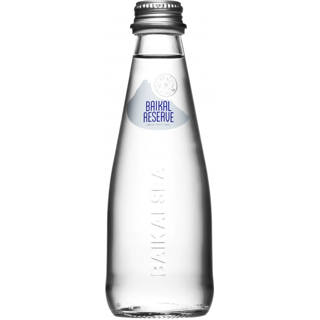 Вода Байкал Резерв (BAIKAL RESERVE) стекло 0.25 литра