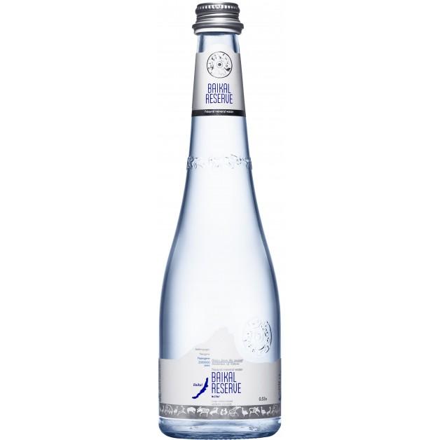 Вода Байкал Резерв (BAIKAL RESERVE) стекло 0.53 литра