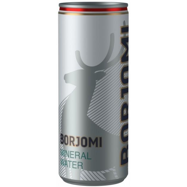 Вода БОРЖОМИ (BORJOMI) газированная ЖБ 0.33 литра