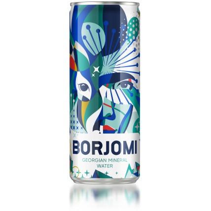 Вода БОРЖОМИ (BORJOMI) газированная ЖБ 0.33 литра...