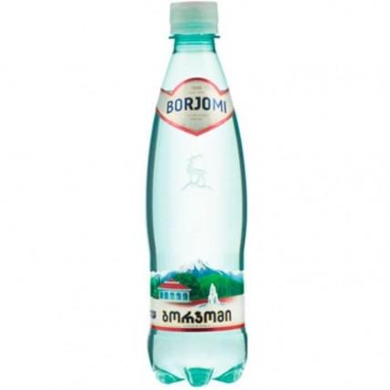Вода БОРЖОМИ (BORJOMI) газированная 0.5 литра...