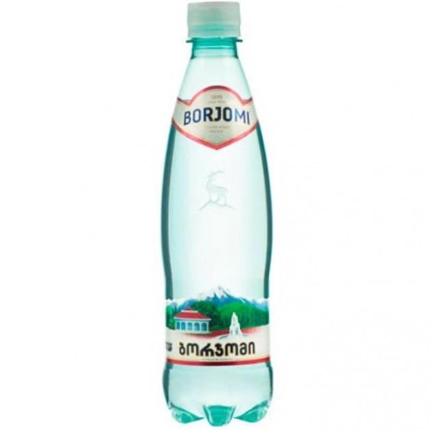 Вода БОРЖОМИ (BORJOMI) газированная 0.5 литра