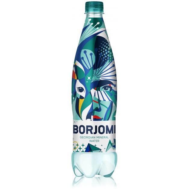 Вода БОРЖОМИ (BORJOMI) газированная 0.75 литра