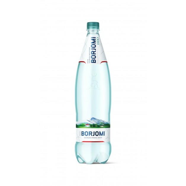 Вода БОРЖОМИ (BORJOMI) газированная 1.25 литра