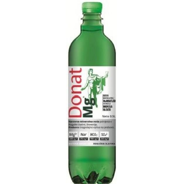 Вода ДОНАТ МАГНИЙ (DONAT MG) газированная 0.5 литра