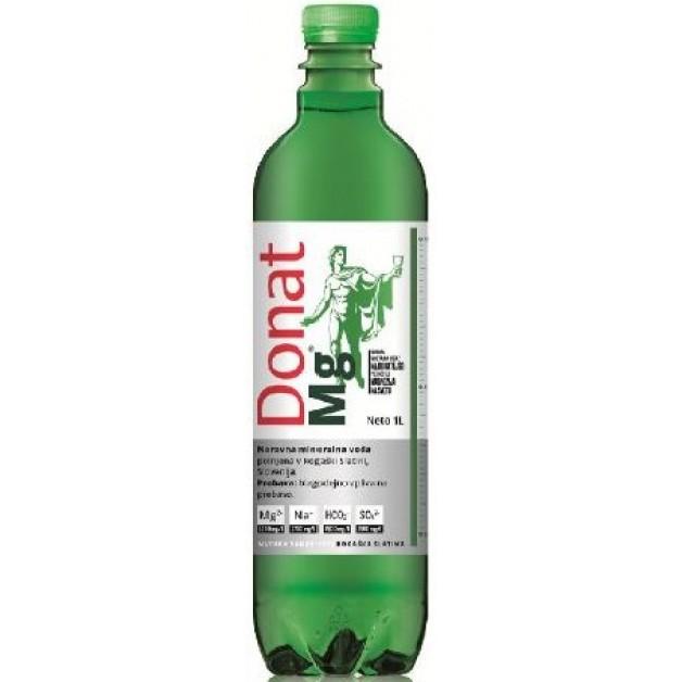 Вода ДОНАТ МАГНИЙ (DONAT MG) газированная 1 литр