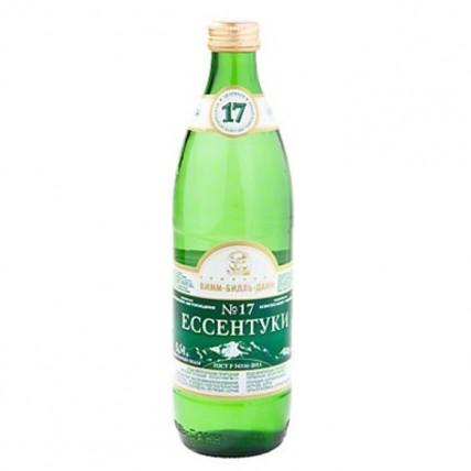 Вода ЕССЕНТУКИ №17 газированная стекло 0.5 литра...