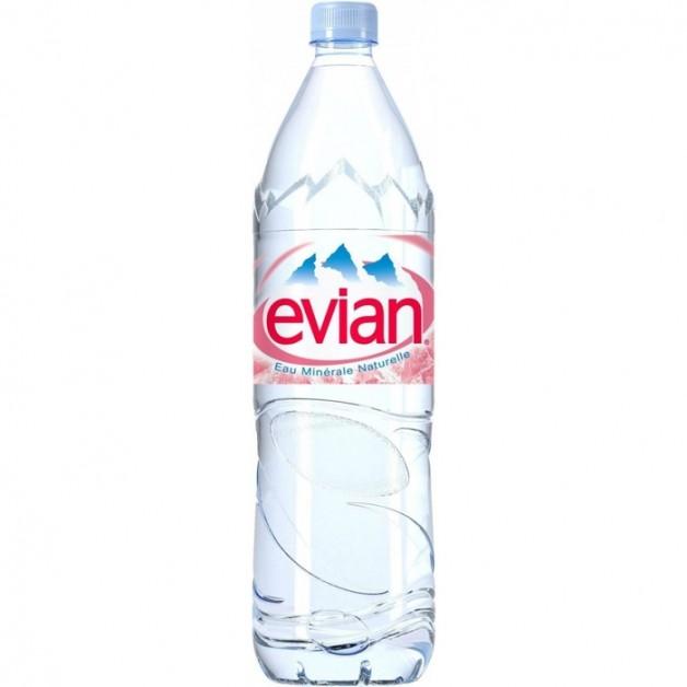 ЭВИАН (EVIAN) негазированная 1.5 литра