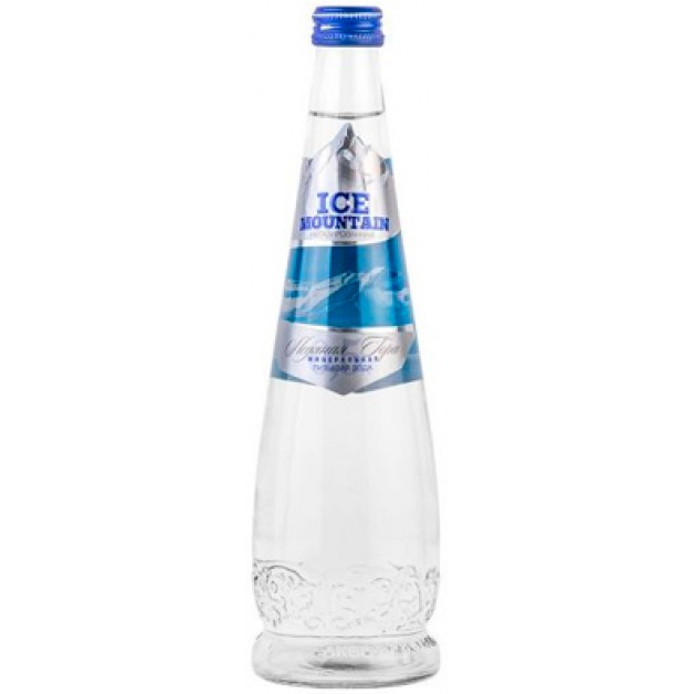 Вода Ледяная гора (ICE MOUNTAIN) негазированная стекло 0.5 литра